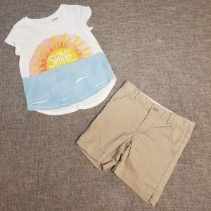 Gymboree girls outfit 5T